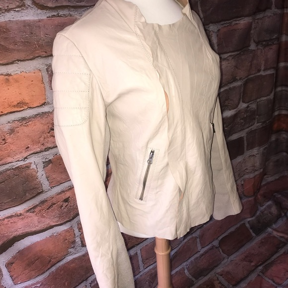 LAmade Jackets & Blazers - LAMade all leather quilted jacket. NWOT.